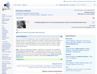 es.wikiquote.org screenshot
