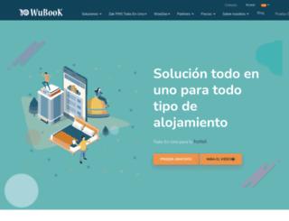 es.wubook.net screenshot