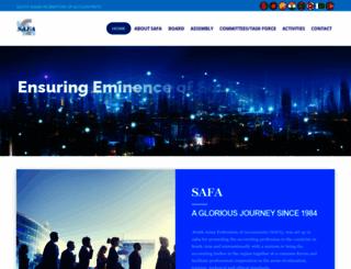 esafa.org screenshot