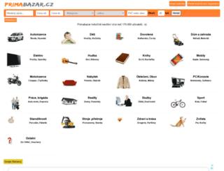 esbazar.cz screenshot
