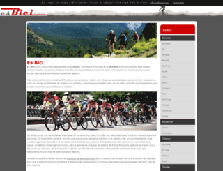 esbici.com screenshot