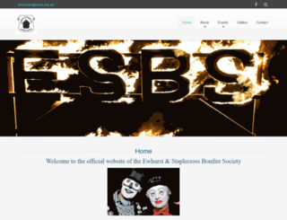 esbs.org.uk screenshot