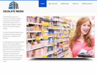 escalatemedia.com screenshot