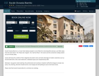 escale-oceania-biarritz.h-rez.com screenshot