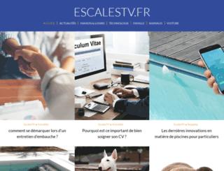 escalestv.fr screenshot
