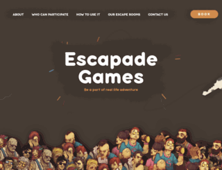 escapadegames.us screenshot
