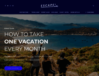 escapemonthly.com screenshot