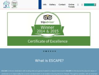 escapepenang.com screenshot