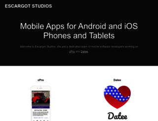 escargotstudios.com screenshot