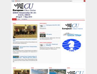 escc2015.chessdom.com screenshot