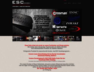 escgmbh.biz screenshot