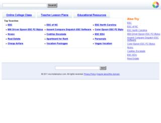 escmylabsplus.com screenshot