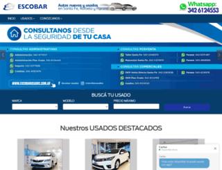 escobarusados.com.ar screenshot