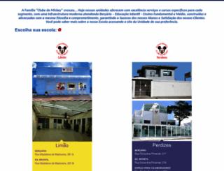 escolaclubedomickey.com.br screenshot