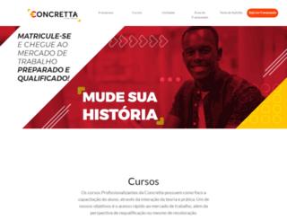 escolaconcretta.com.br screenshot