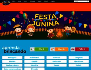 escolagames.com.br screenshot
