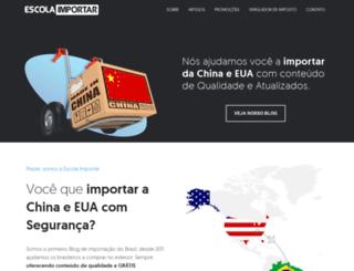 escolaimportar.com.br screenshot
