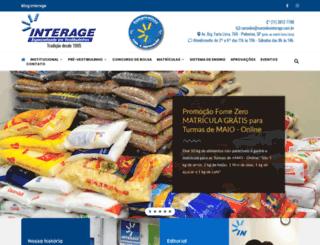 escolainterage.com.br screenshot
