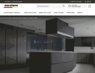 escolano.com.mx screenshot