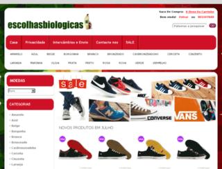 escolhasbiologicas.pt screenshot