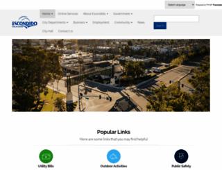 escondido.org screenshot