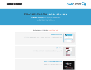 escrachalos.own0.com screenshot