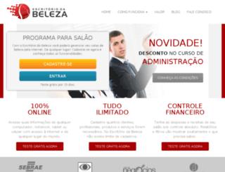escritoriodabeleza.com.br screenshot