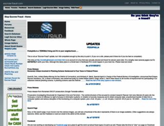 escrow-fraud.com screenshot