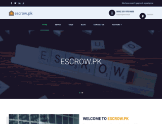 escrow.pk screenshot