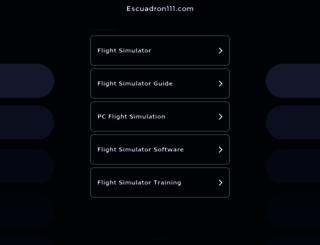escuadron111.com screenshot