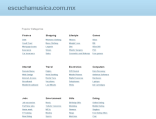 escuchamusica.com.mx screenshot