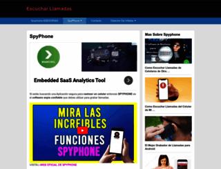 escucharllamadasdecelulares.com screenshot