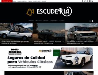 escuderia.com screenshot
