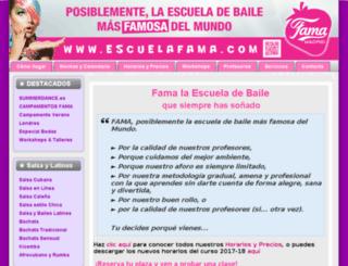 escuelafama.com screenshot