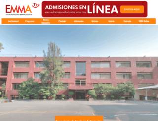 escuelamanuelacosta.edu.mx screenshot