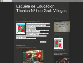 escuelatecnicavillegas.blogspot.com screenshot