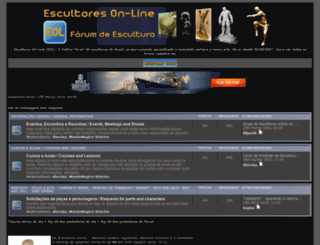 esculpindo.one-forum.net screenshot