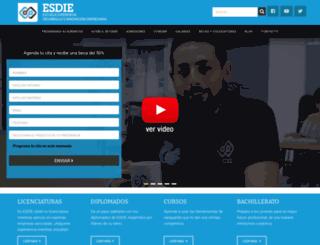 esdie.org screenshot