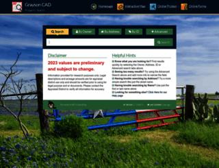 esearch.graysonappraisal.org screenshot