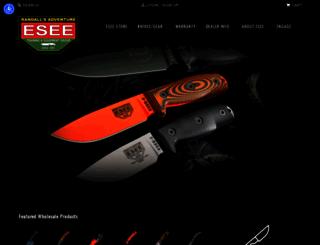 eseeknives.com screenshot