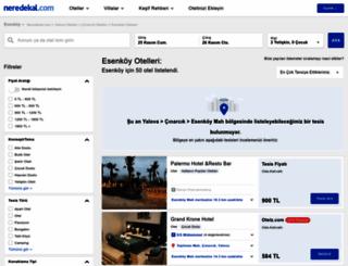 esenkoy.neredekal.com screenshot