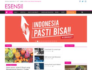 esensi.co.id screenshot