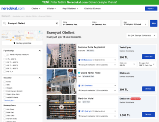 esenyurt.neredekal.com screenshot