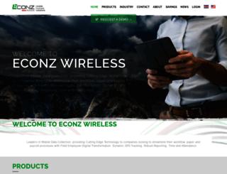 eservice.econz.com screenshot