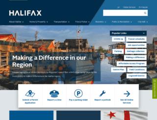 eservices.halifax.ca screenshot