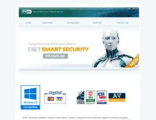 eset.com.mt screenshot