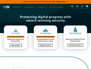 eset.com screenshot