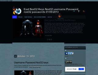esetnodman3.blogspot.in screenshot