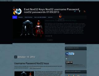 esetnodman32.blogspot.com screenshot