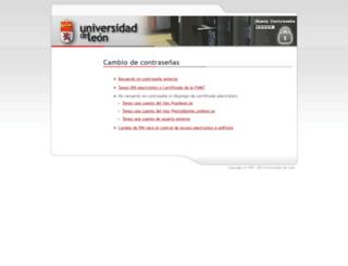 esfinge.unileon.es screenshot